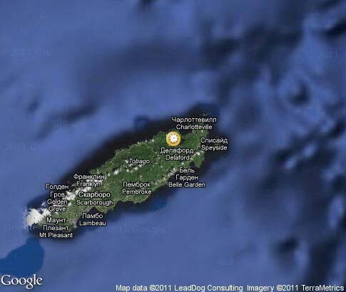 Tobago Nature Video Popular Tourist Places Satellite Map